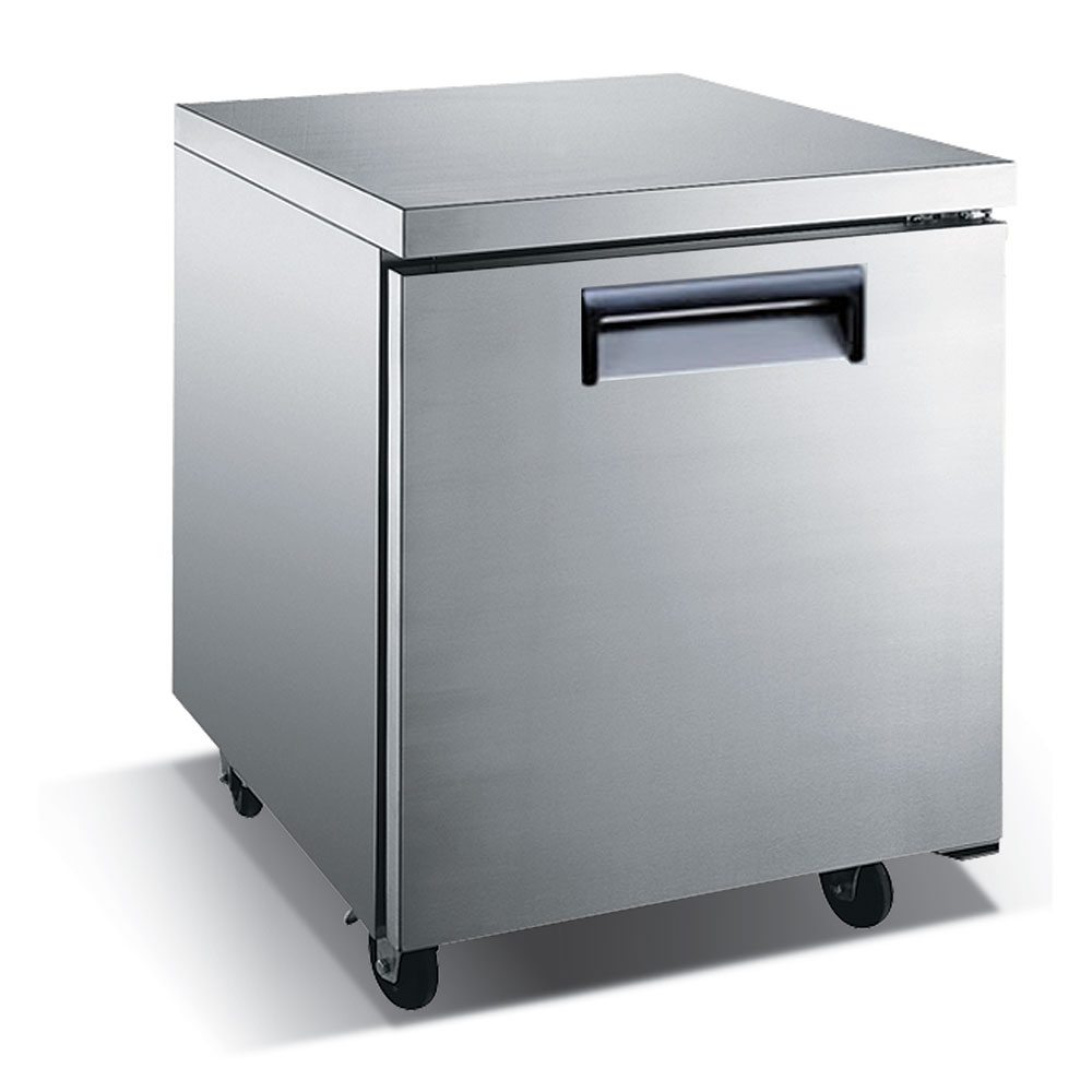 eQuipped VUCF27 6.25-cu ft Undercounter Freezer w/ (1) Section & (1) Door, 115v