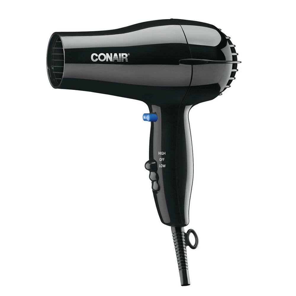 Conair Hospitality 047BW Compact Hair Dryer w/ Cool Shot ...