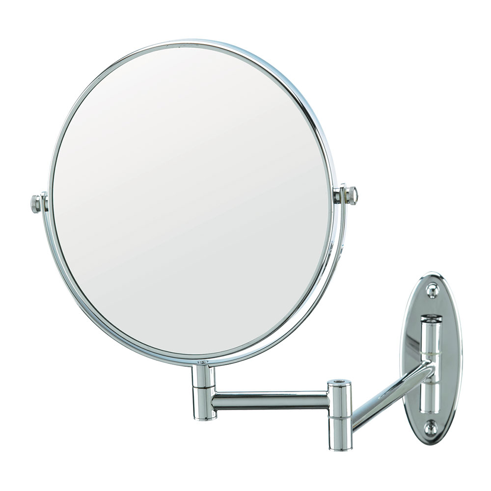 Conair hospitality 41741w 8 wall mount mirror standard for Wall mounted mirror