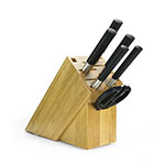 Kai WBS0700 Wasabi Black 7 Piece Knife Set w/ Storage Block