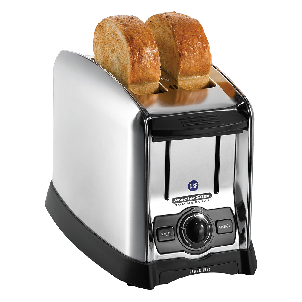 "Proctor Silex 22850 Slot Toaster - 150-Slices/hr w/ 1.5"" Product Opening, 120v"