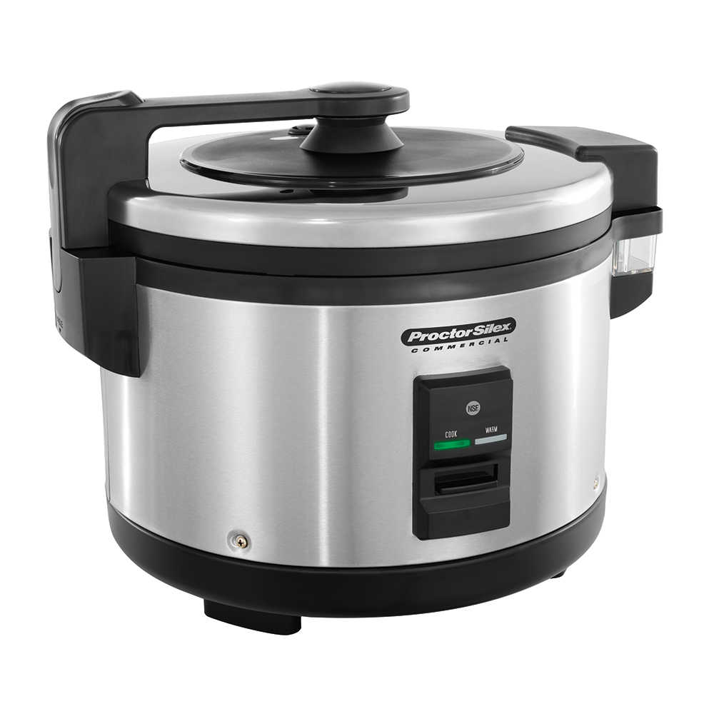 Proctor Silex 37560R Insulated Rice Cooker / Warmer, 60-Cup, Trigger Handle, NSF, 120 V