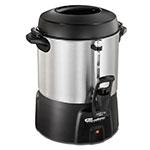 Proctor Silex 45040 40-Cup Coffee Urn w/ Dual Heaters & Tall Base, 120 V