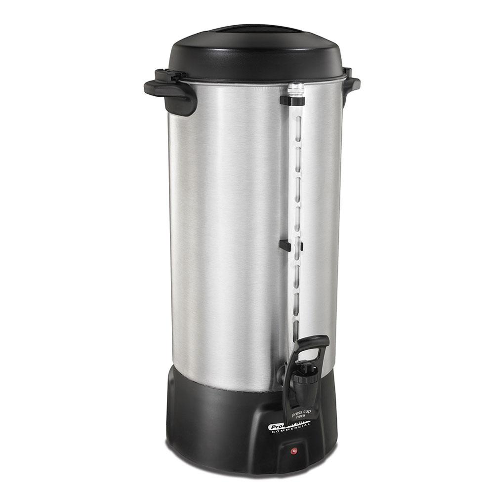 Proctor Silex 45100 100-Cup Coffee Urn w/ Dual Heaters & Tall Base, 120 V