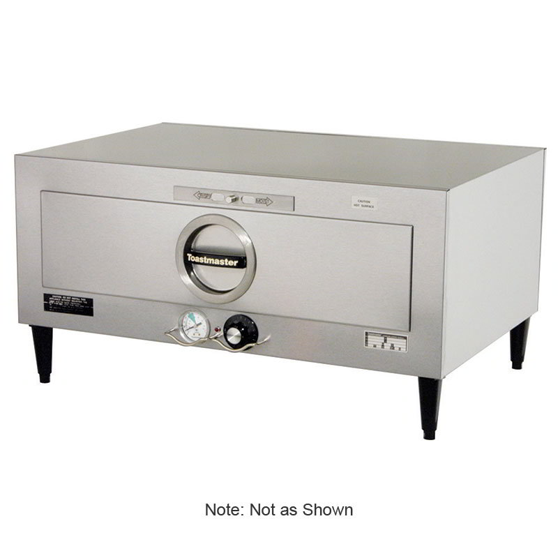 Toastmaster 3A80AT72 208/240 1-Drawer Food Warmer, 7-Dz Rolls, Thermostatic Control, 208/240/1