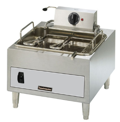Toastmaster TMFE15 Countertop Electric Fryer - (1) 15-lb Vat, 208v/1ph