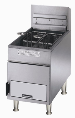 Toastmaster TMFG18 LP Countertop Gas Fryer - (2) 18-lb Vat, LP