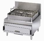 Toastmaster TMFG30-NAT Countertop Gas Fryer - (1) 30-lb Vat, NG