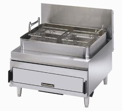 Toastmaster TMFG30-LP Countertop Gas Fryer - (2) 30-lb Vat, LP