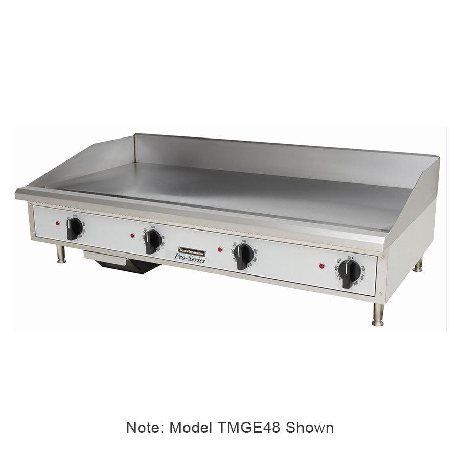 "Toastmaster TMGE24 24"" Electric Griddle - Thermostatic, 3/4"" Steel Plate, 240v/3ph"