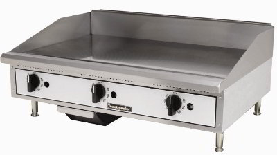 Toastmaster TMGT48 NG 48-in Griddle w/ 5/8-in Steel Plate, Thermostatic Control, NG