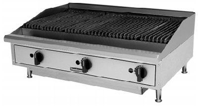 Toastmaster TMRC24 NG 24-in Charbroiler w/ Reversible Grates, Radiant, NG