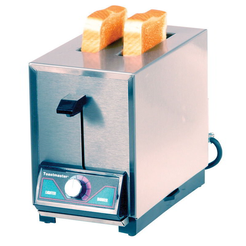 Toastmaster TP209 120 Pop Up Toaster w/ 2-Narrow Slots, 150- Slices/Hr Capacity, 120 V