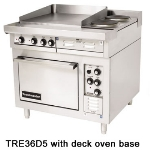 "Toastmaster TRE36C5 2401 36"" 2-Sealed Element Electric Range with Griddle, 240/1v"