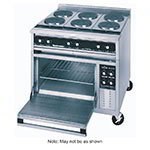 "Toastmaster TRE36D1 36"" Electric Range with (3) Hot Top, 208v/3ph"