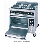 "Toastmaster TRE36D1 36"" Electric Range with (3) Hot Top, 240v/3ph"