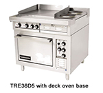 "Toastmaster TRE36D2M 2403 36"" 2-Sealed Element Electric Range with (2) Hot Top, 240/3v"