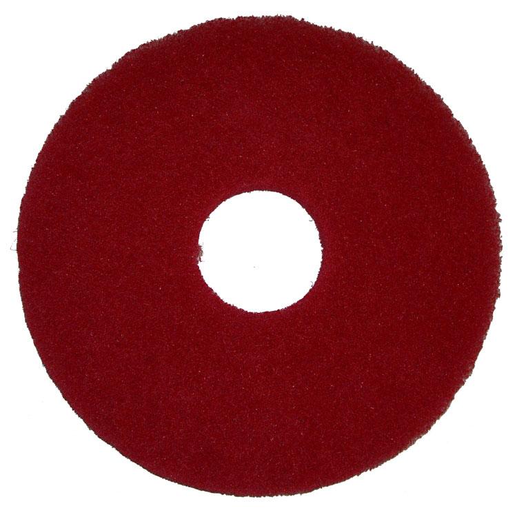 "Bissell 437.055 12"" Polish Pad for BGEM9000, Red"
