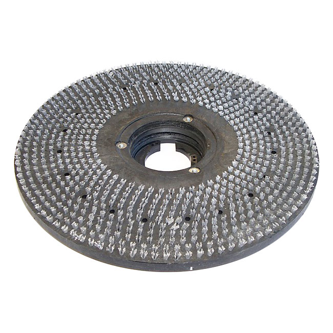 "Bissell 53269-010327 17"" Hook Style Pad Holder for Lo-Boy Floor Machine, Black"
