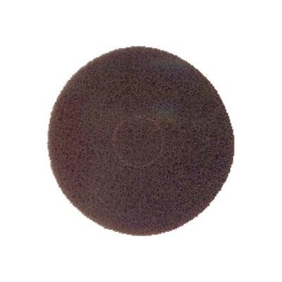 "Bissell 82006 17"" Scrub Pad for Lo-Boy Floor Machine, Brown"