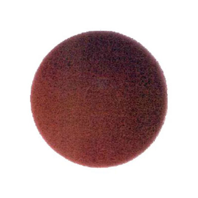 "Bissell 82007 17"" Polish Pad for Lo-Boy Floor Machine, Red"