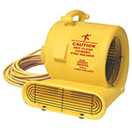 "Bissell AM10.D 18"" Floor Dryer w/ 3-Speeds, Yellow"