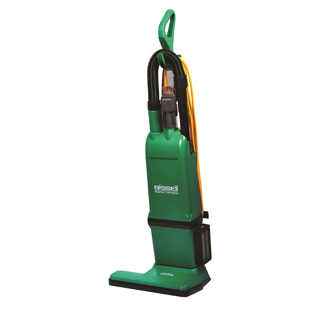 "Bissell BG1000 15"" Heavy Duty Commercial Vacuum w/ Attachments - 1080 Watts, Green"