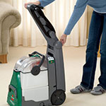 "Bissell BG10 10.5"" BigGreen Deep Cleaning Machine w/ Adjustable Handle, Green/Gray"