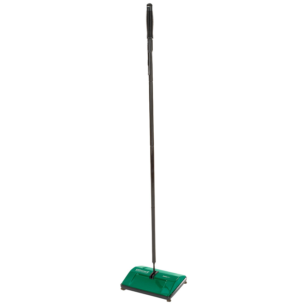 "Bissell BG-25 9.5"" Sweeper w/ Single Nylon Brush, Green"