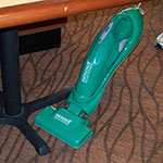 Bissell BG-701B Battery-Powered Electric Broom w/ Removable Hand Vac, Green