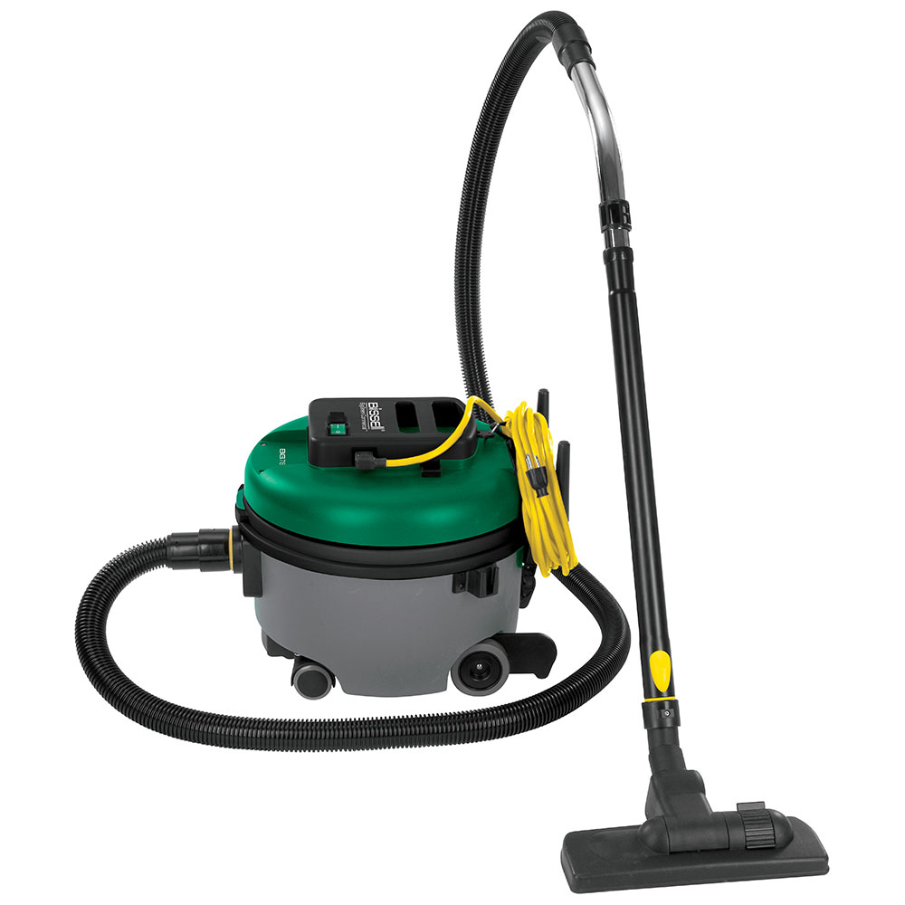 Bissell BGCOMP9H 1.94-Gal Advance Filtration Canister Vacuum w/ Attachments - 1350 Watts, Green