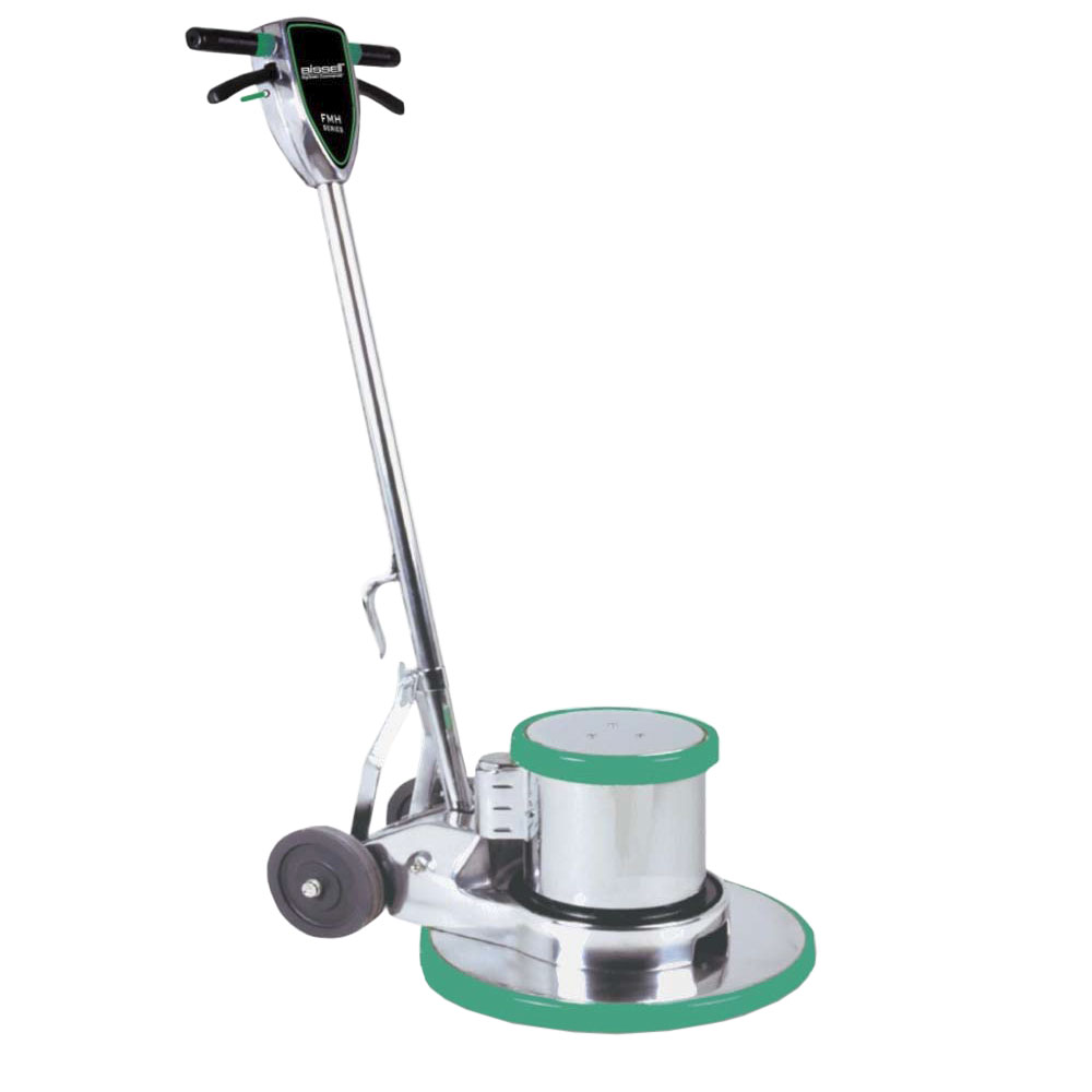 "Bissell BGH-15E FMH Heavy Duty Floor Machine w/ 15"" Pad, Aluminum"