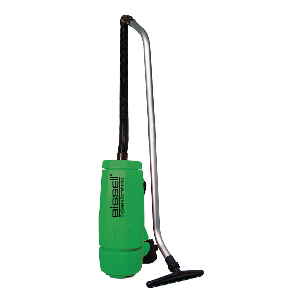 Bissell BGPRO6A 6-qt Backpack Vacuum w/ Whisper Motor - 1200 Watts, Green