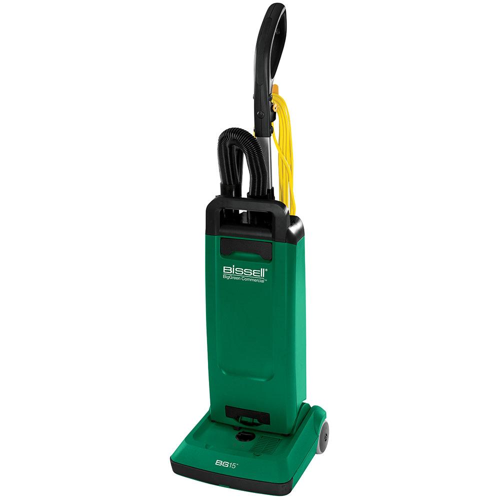 """Bissell BGUPRO12T 12"""" Heavy Duty Upright Vacuum w/ Attachments - 1000 Watts, Green"""