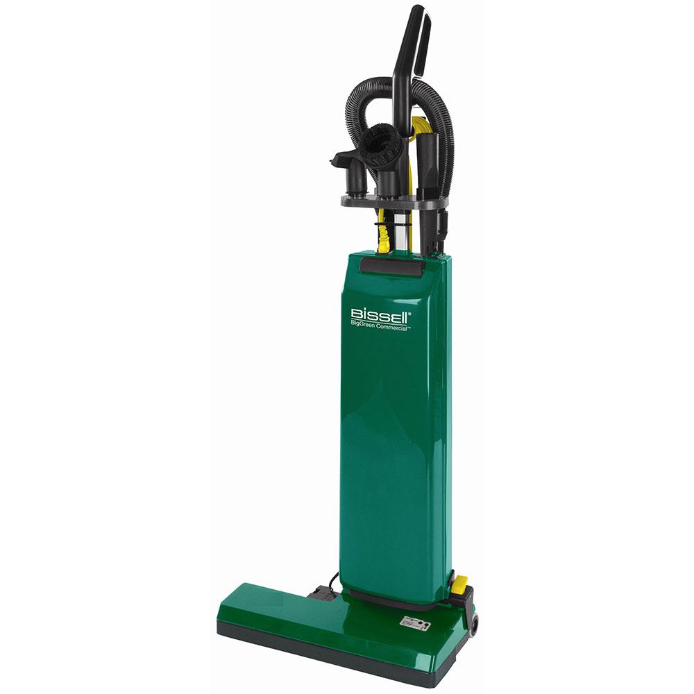 """Bissell BGUPRO14T 14"""" Heavy Duty Upright Vacuum w/ Attachments - 1000 Watts, Green"""