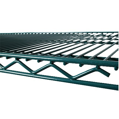 "Value Supplies 22172 Epoxy Coated Wire Shelf - 72"" x 21"""