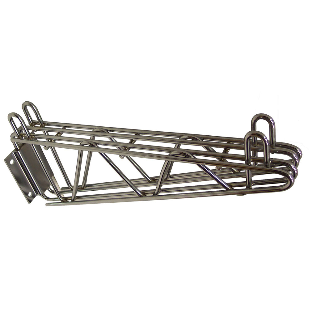 "StoreIt 11115 14"" Wire Wall Mounted Shelving Brackets"