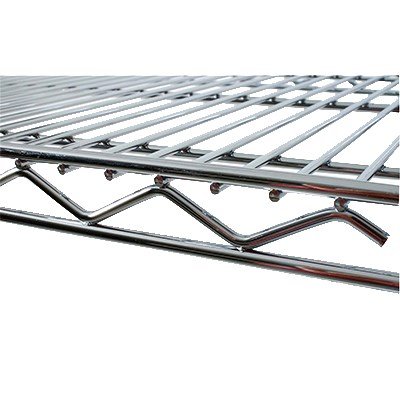 "StoreIt 11472 Chrome Wire Shelf - 72"" x 14"""
