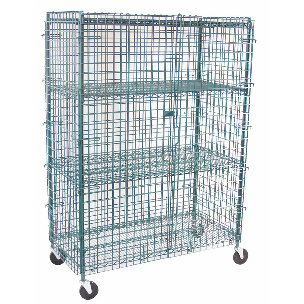 "StoreIt 20004 48"" Mobile Security Cage, 24""D"
