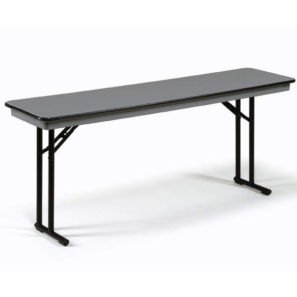 Midwest Folding CP818EF Rectangular Folding Seminar Table...