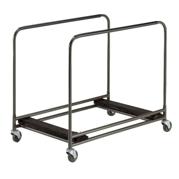 """Midwest Folding Products RTC Table Truck w/ (8) 48"""" to 60"""" Round Table Capacity, Steel"""