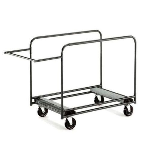 """Midwest Folding Products RTCHB Table Truck w/ (8) 60"""" to 72"""" Round Table Capacity, Steel"""