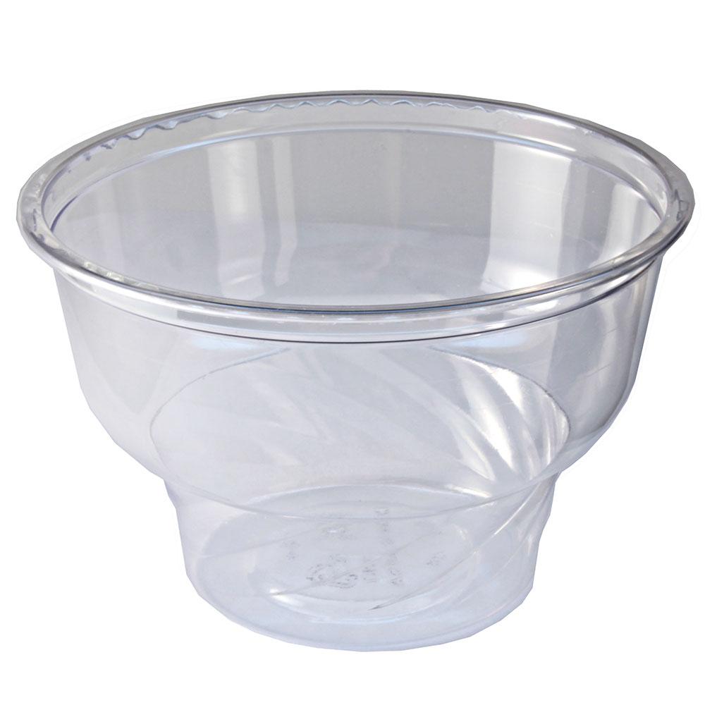 Fabri-Kal DE8 8-oz Indulge Dessert Container - Plastic, C...