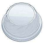 Fabri-Kal DLDE16/24NH Lid for Indulge™ Dessert Containers - No Hole, Plastic, Clear