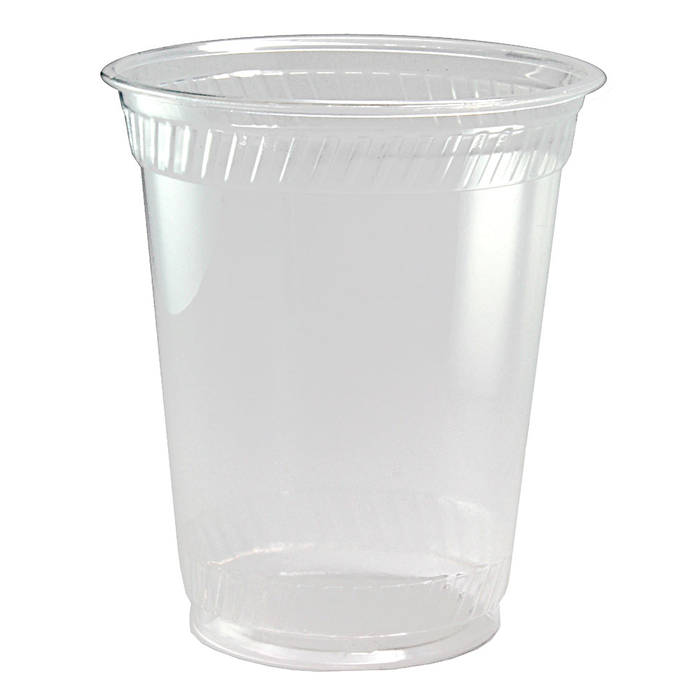 Fabri-Kal GC12S 12-oz Greenware® Cold Drink Cup - Plastic, Clear