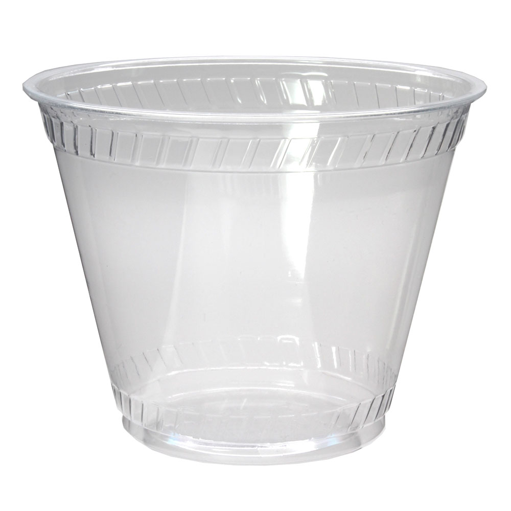 Fabri-Kal GC9OF 9-oz Greenware® Cold Drink Cup - Plastic, Clear