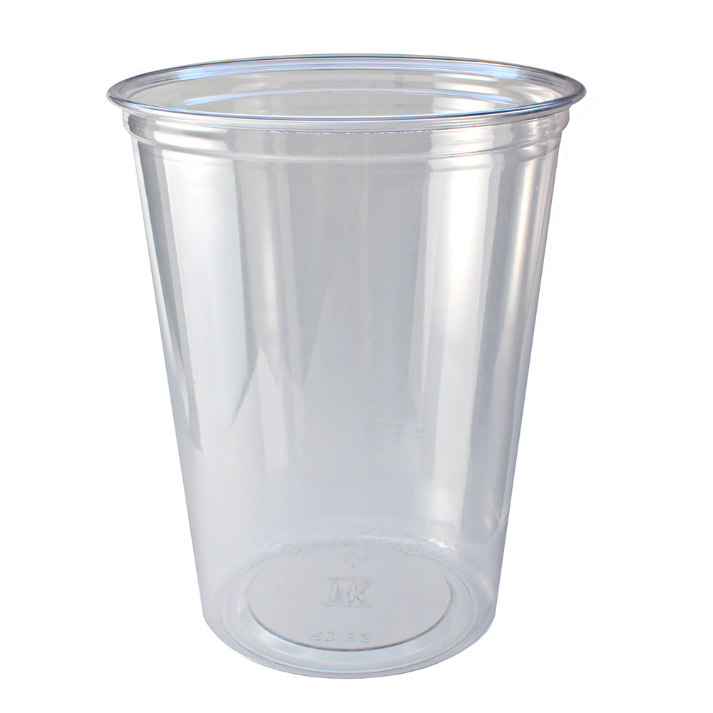 Fabri-Kal RD32 32-oz Alur™ Round Container - Plastic, Clear