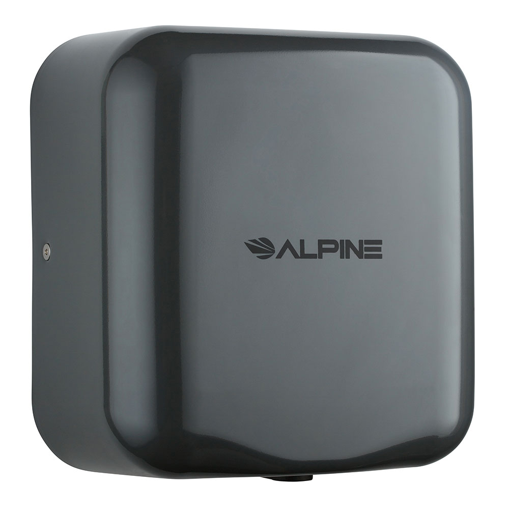 Alpine Industries 400-10-GRY Automatic Hand Dryer w/ 10-Sec Dry Time - Gray, 110-120v