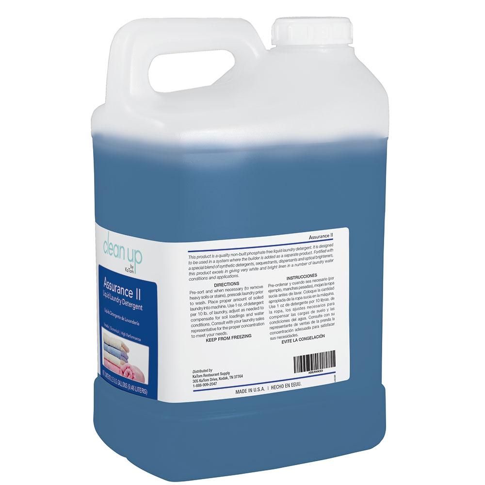 Clean Up by KaTom ASSURANCEII 2.5-gal Assurance II Laundry Detergent, Fresh & Clean Scent