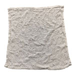 "Clean Up by KaTom CBT24WH White Cotton Bar Towel, 16"" x 19"""